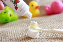 岂止美宝宝安全护牙素60克防蛀固齿无氟3个月儿童可吞咽牙膏包邮